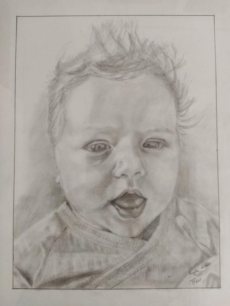 Retrato de Ángela